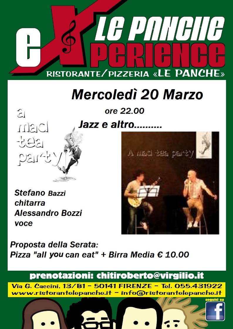 A MAD TEA PARTY live @ LE PANCHE eXperience