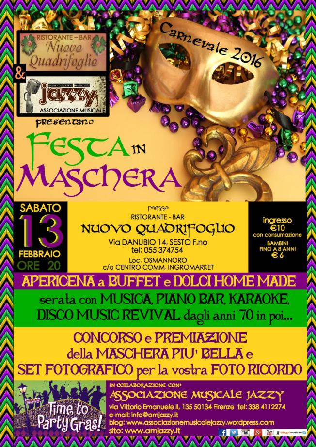 FESTA in MASCHERA 2016